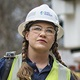 Duke Energy line technician Suzy Macke of Ohio