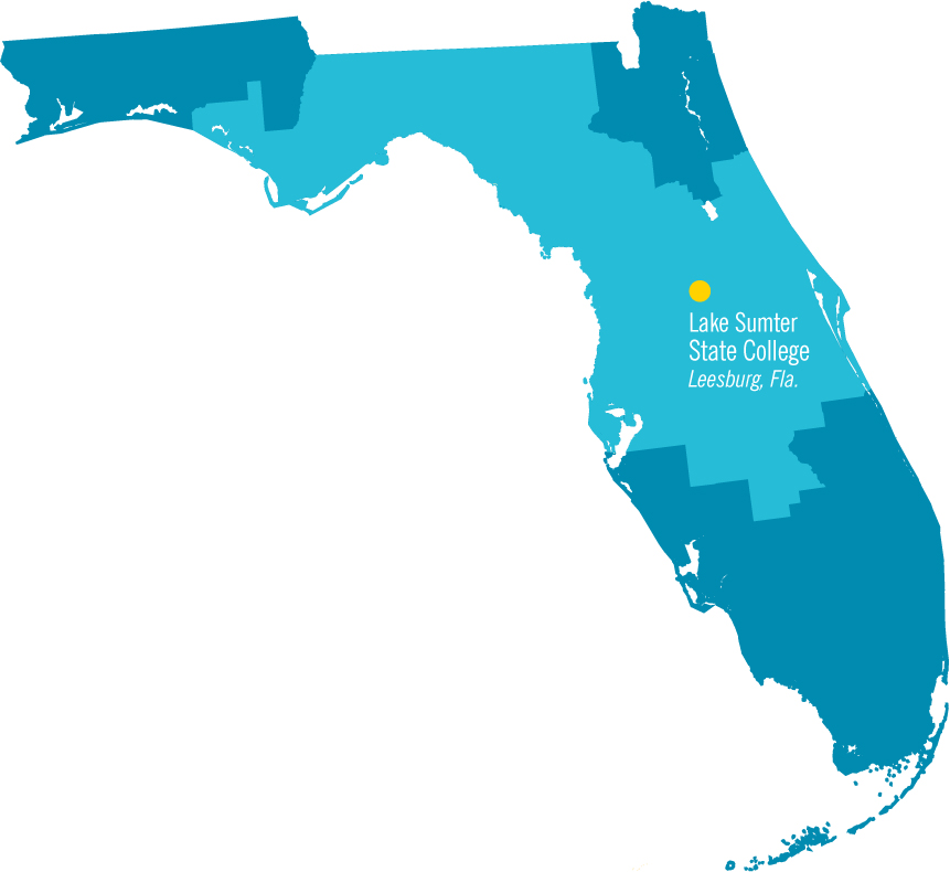 full width map of Florida
