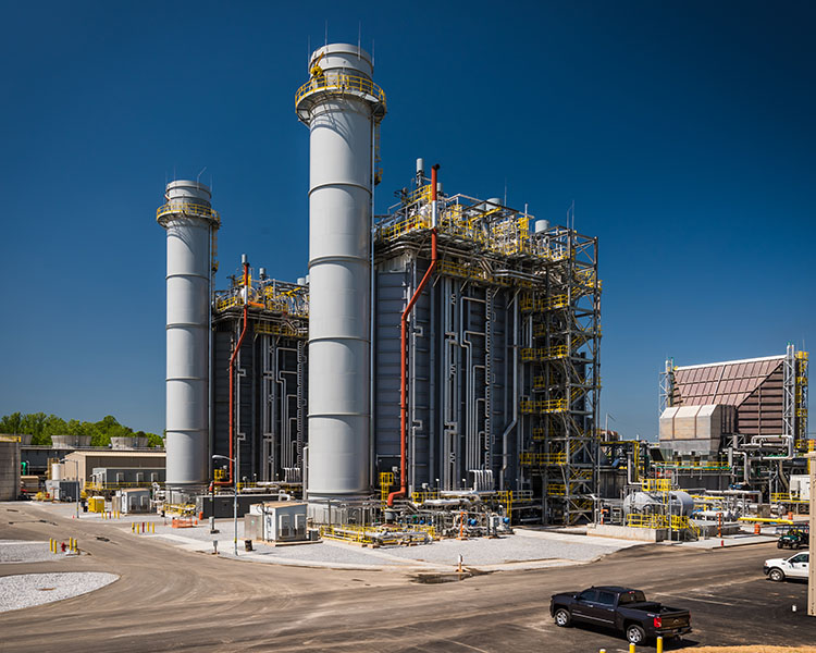 Image of the WS Lee combined cycle generating station