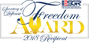 Poster image of Dept. of Defense Freedom Award