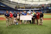 victories for veterans check presentation