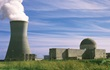 Small image of Harris Nuclear Plant exterior with cooling tower