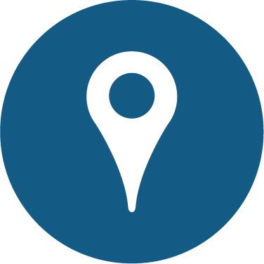 Location icon for use with a map