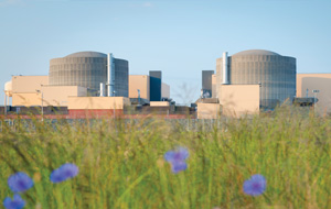 Small image of McGuire Nuclear Station exterior containment building