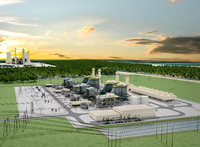 Citrus Combined-Cycle Natural Gas Plant